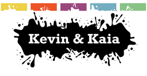 Kevin and Kaia Stickers