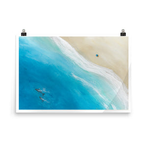"""Big Beach"" Open Edition Print"