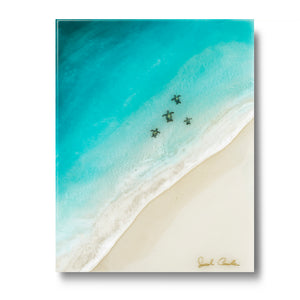 """Honu Ohana"" Open Edition Resin Print *DISCONTINUED*"