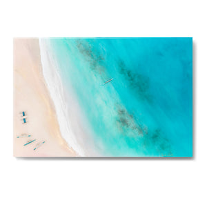 """Lanikai Beach"" Resin Print"