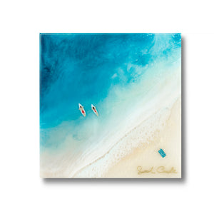 """Paddle Out"" Resin Print"