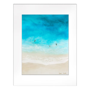 """Sisters of Surf"" Matted Print *LAST CHANCE*"