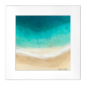 """Surf Date"" Matted Print"