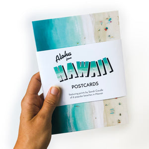 """Aloha from Hawaii"" Postcards"