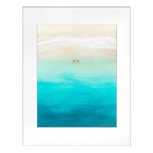 """Three for the Sea"" Matted Print"