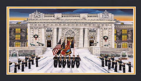 (C-74) US Naval Academy Flags - Monumental Products