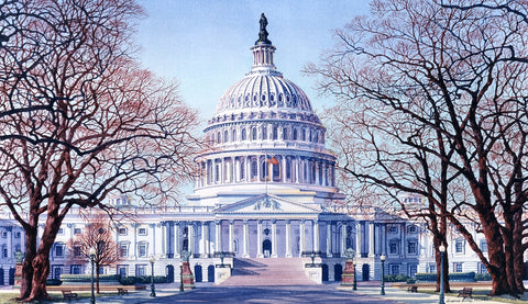 (H-1) Capitol East View - Monumental Products