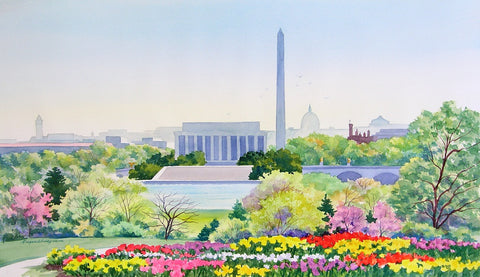 (H-2) Springtime in Washington - Monumental Products