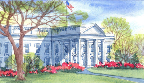 (H-3) Summer at the White House - Monumental Products