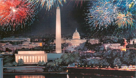 (K-36) Fireworks over Washington - Monumental Products