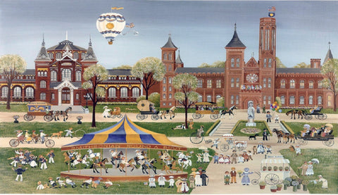 (C-37) Summer at the Smithsonian - Monumental Products