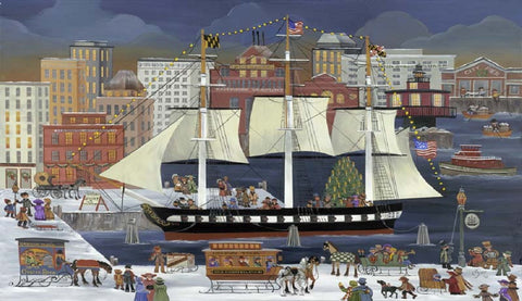 (K-3) USS Constellation in Baltimore - Monumental Products