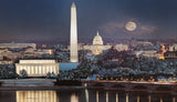 (R-2) Washington Under Winter Moonlight - Monumental Products