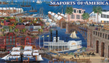 Seaports of America Boxed Notes - Monumental Products
