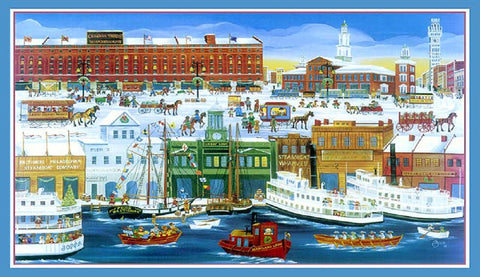 (C-75) Old Baltimore Harbor, Camden Yards - Monumental Products