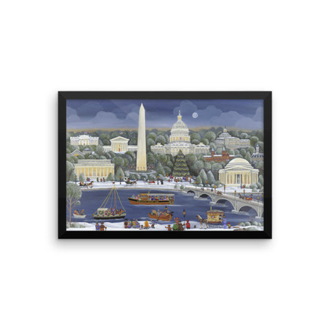 The Nation's Capital (K-9) Framed photo paper poster