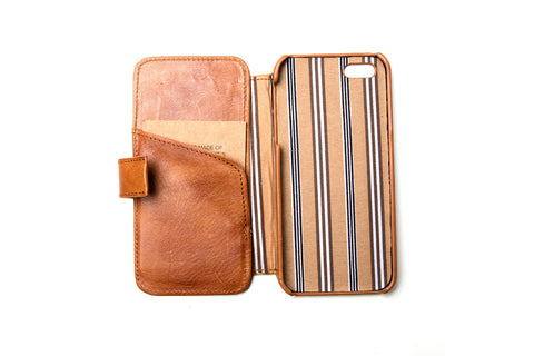 Stewart bookcase iPhone 5/ 5S Cognac