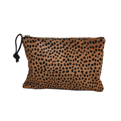 CHEETAH LARGE CLUTCH