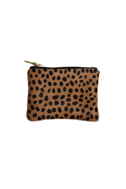 CHEETAH SMALL POUCH