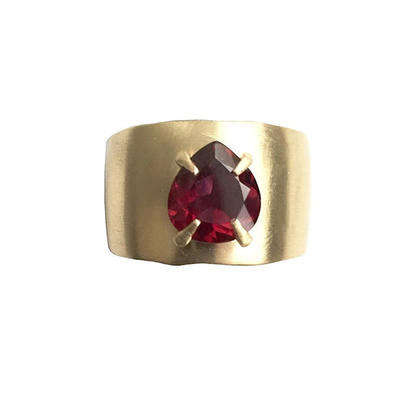RUBELLITE TOURMALINE CIGAR BAND