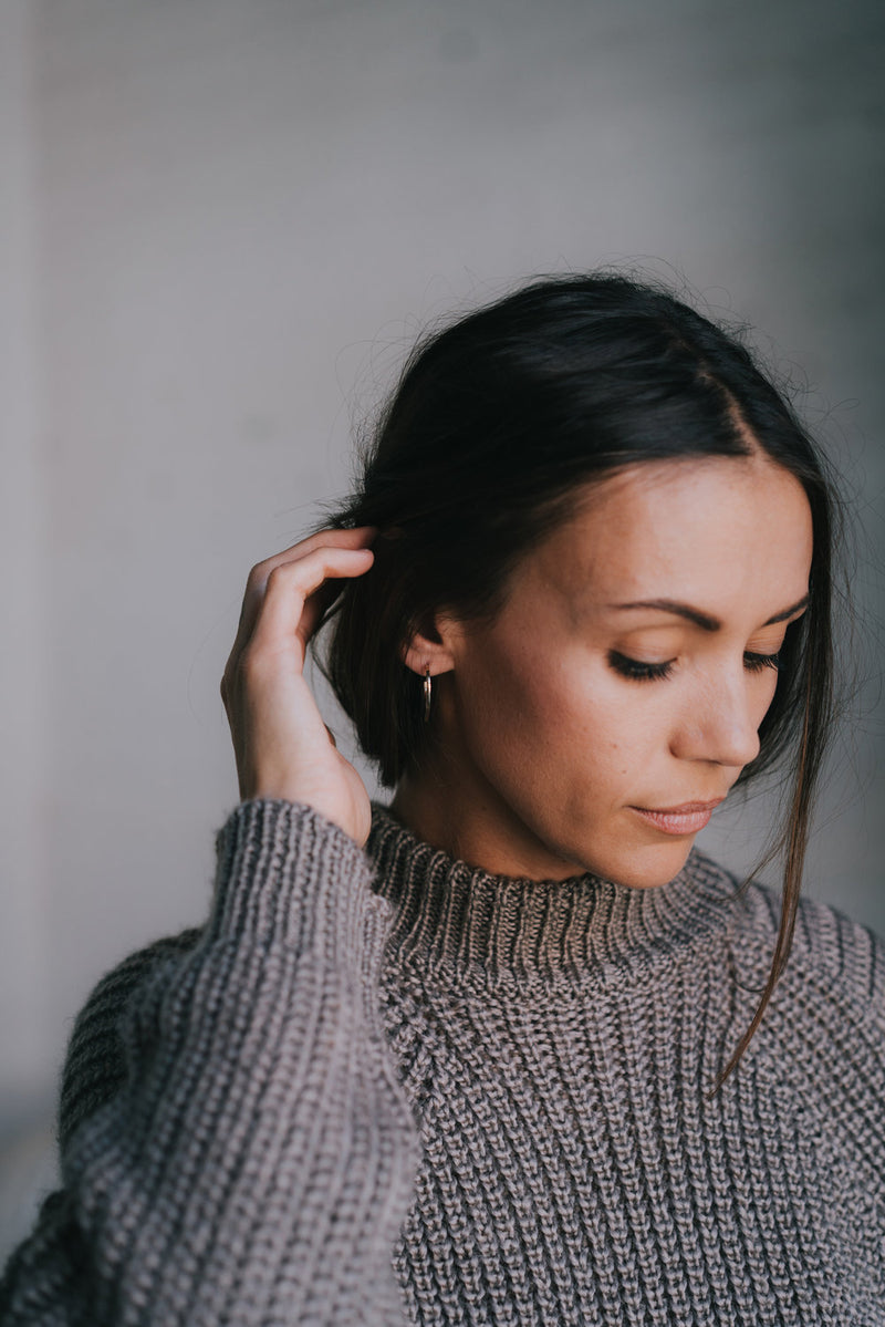 ASCEND HOOP EARRINGS