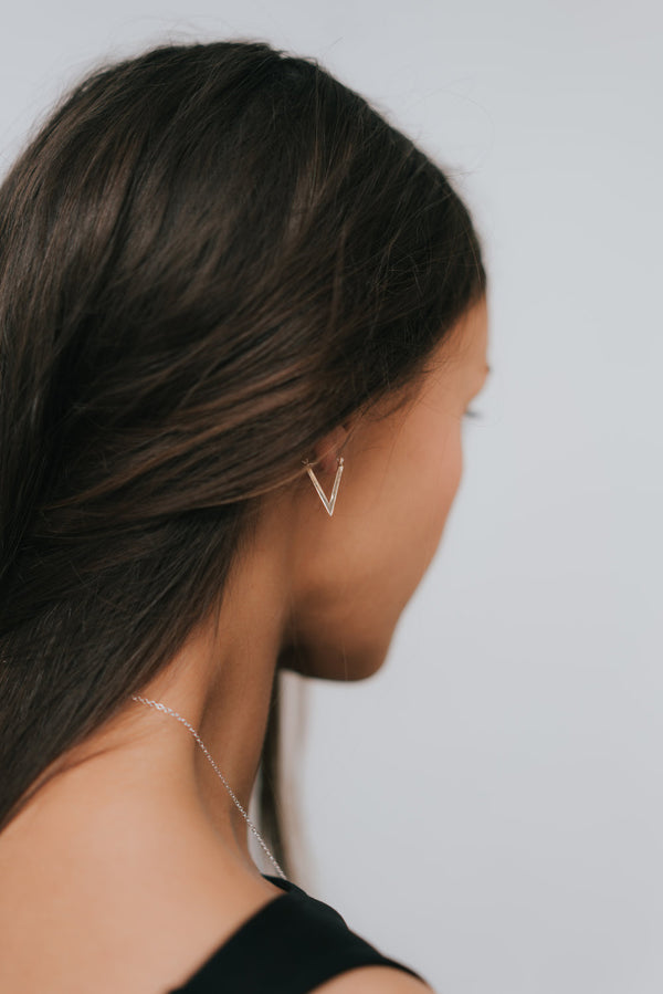 ASCEND TRIANGLE EARRINGS