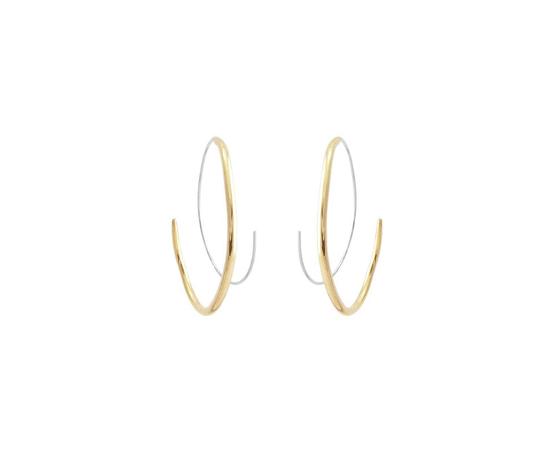 BECKON HOOP EARRINGS