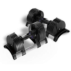 5 - 50 lb Adjustable Dumbbells - Pair - Athlete Everyday