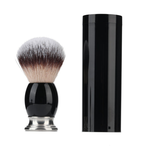 Black & Silver Shaving Brush