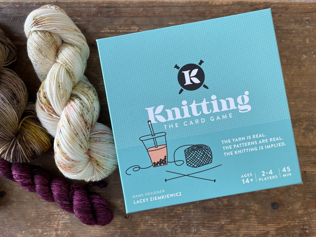 Knitting the Card Game - Prosper Yarn