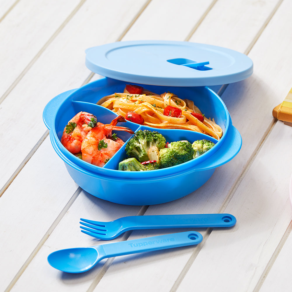 Crystalwave Lunch Set - Blue