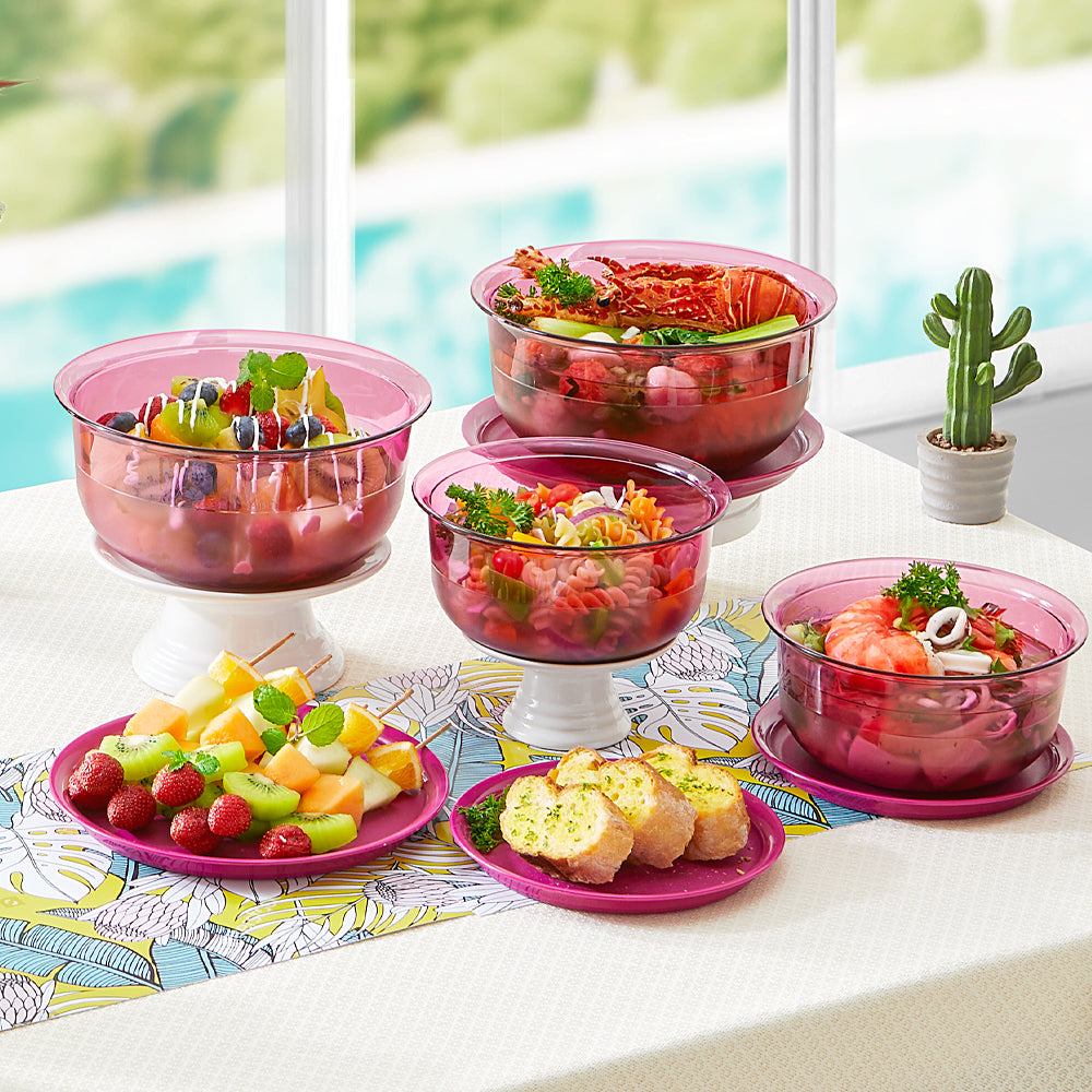 Fucshia Table Collection Set (4)