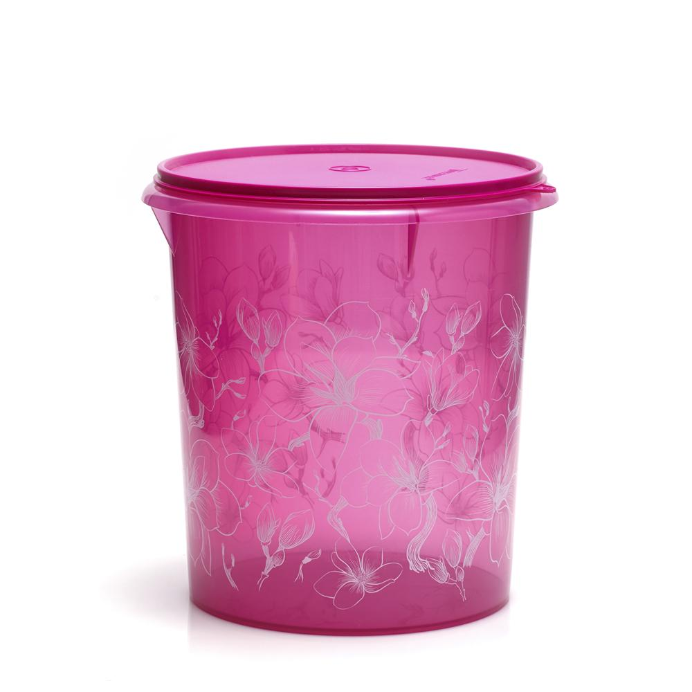 Giant Canister - Flower - Tupperware Indonesia