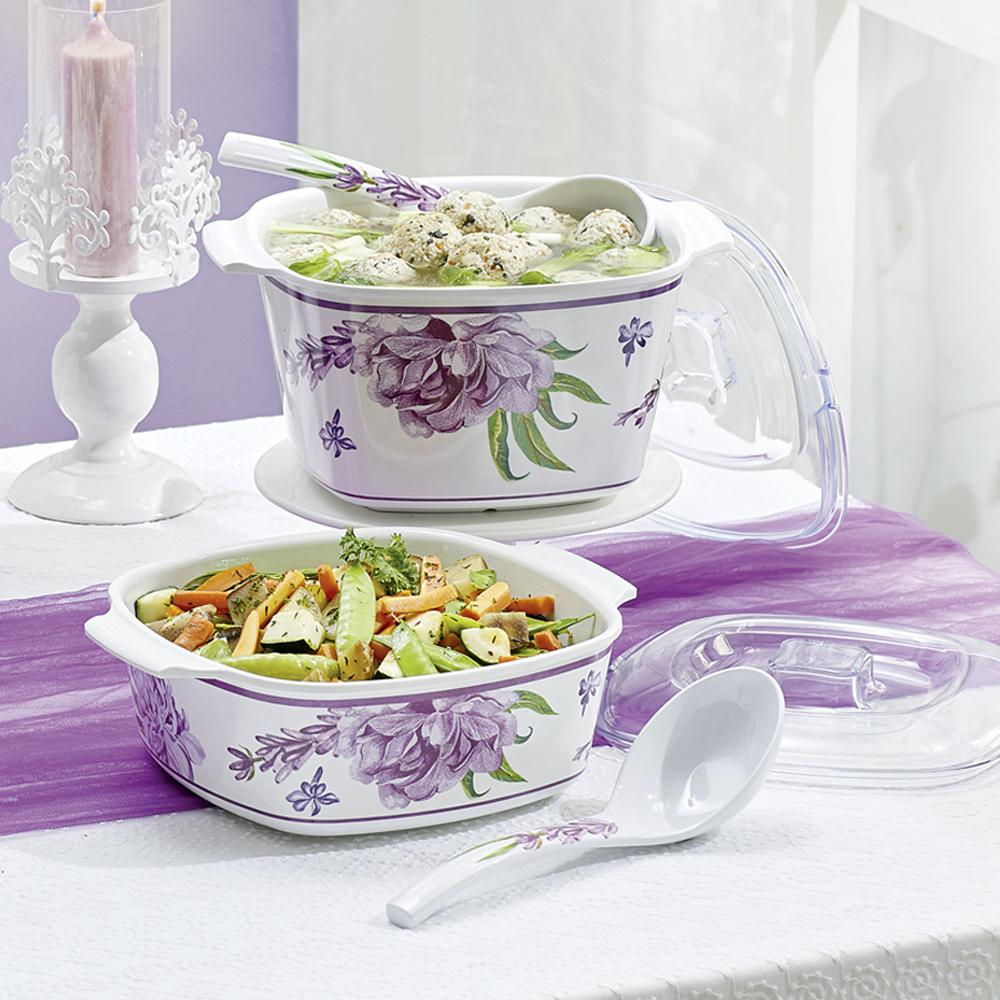 Cattleya Melamine Server 2L - Tupperware Indonesia