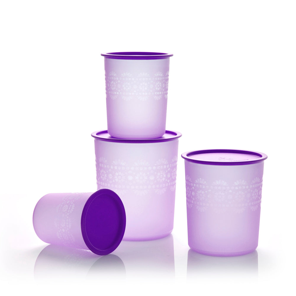 Mosaic Canister Set - Tupperware Indonesia