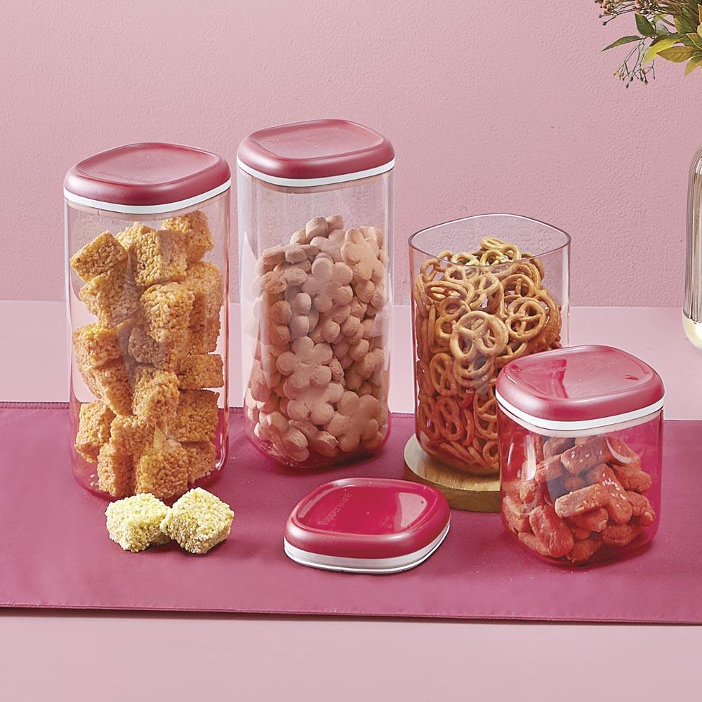Crystal Canister High (2) - Tupperware Indonesia