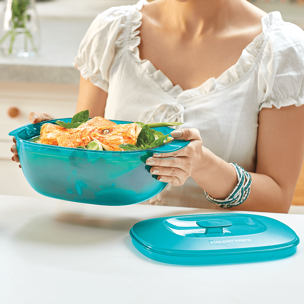 Classy Crystalline Soup Server - Tupperware Indonesia