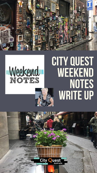 WeekendNotes Write Up