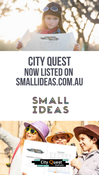 City Quest is now listed on Small Ideas