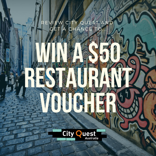 Win a $50 Restaurant Voucher!