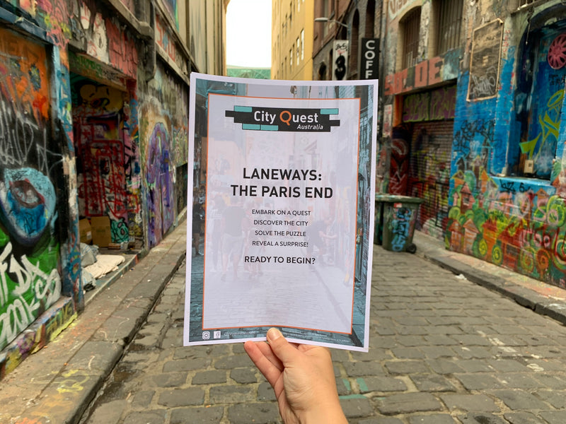 New! Laneways: The Paris End Quest is now available!