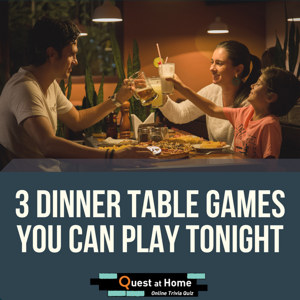 3 Dinner Table Games You Can Play Tonight