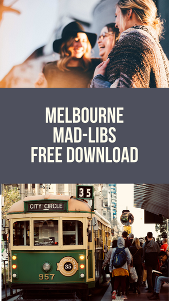 Free Download: Melbourne Mad-Libs