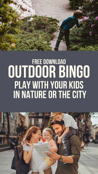 Nature & Urban Bingo Printable Game Board