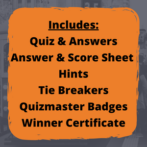 Quest Quiz Pack 3 - Host Your Own Trivia Night