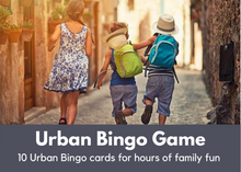 Load image into Gallery viewer, Urban Bingo Game