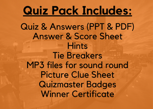 Quest Quiz Pack 6 - Pub Trivia Quiz