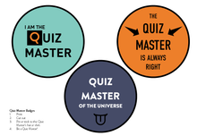 Load image into Gallery viewer, Quest Quiz - Pack 1 - Virtual Game Night Trivia Quiz