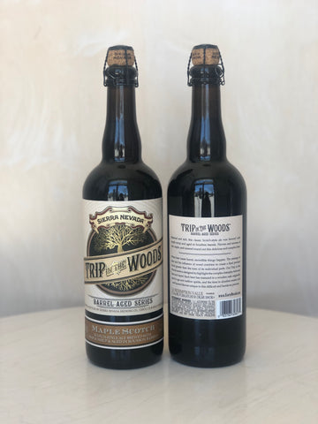 Sierra Nevada - Trip in the Woods: Maple Scotch 2018 (B.B.A Scotch-style Ale w/ Maple Syrup) / 750mL