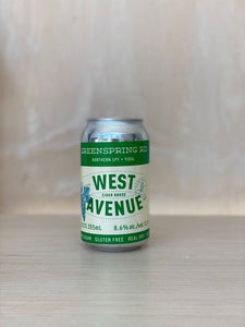 West Ave. - Greenspring Rd. (Cider / Wine Blend) / 355mL
